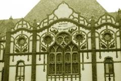 A Vakok Iskolájának főépülete archív felvételen.
