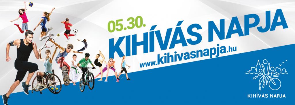 A Kihívás Napja rendezvénysorozat 2018. évi logója