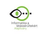 Informatika a látássérültekért Alapítvány logo