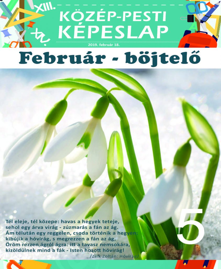 Közép-Pesti Képeslap, 2019 február 18., 5. szám