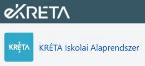 e-KRÉTA Iskolai Alaprendszer logo
