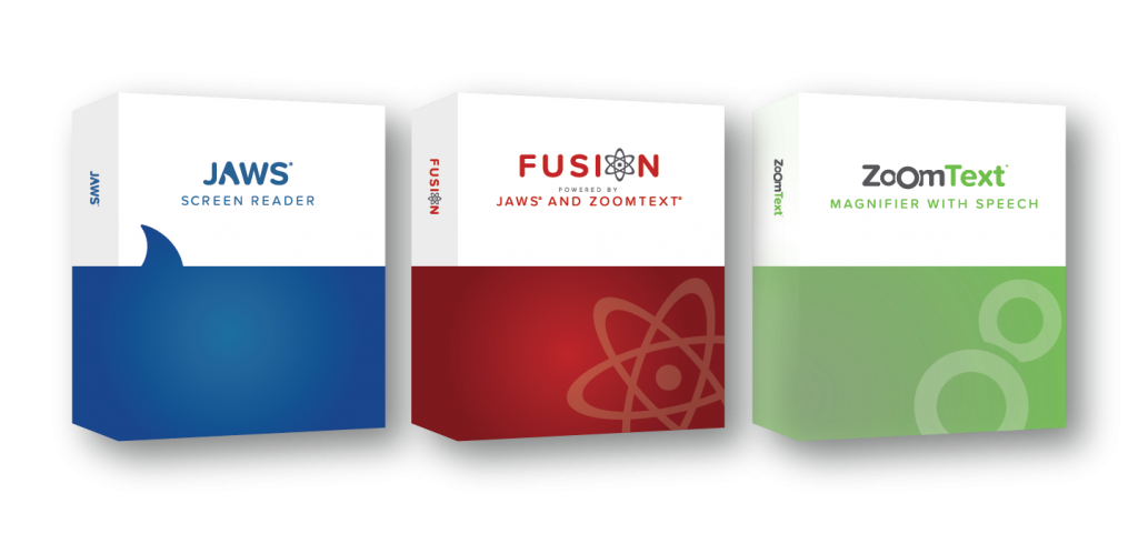 Freedom Scientific - Fusion szoftvercsomag dobozos kép