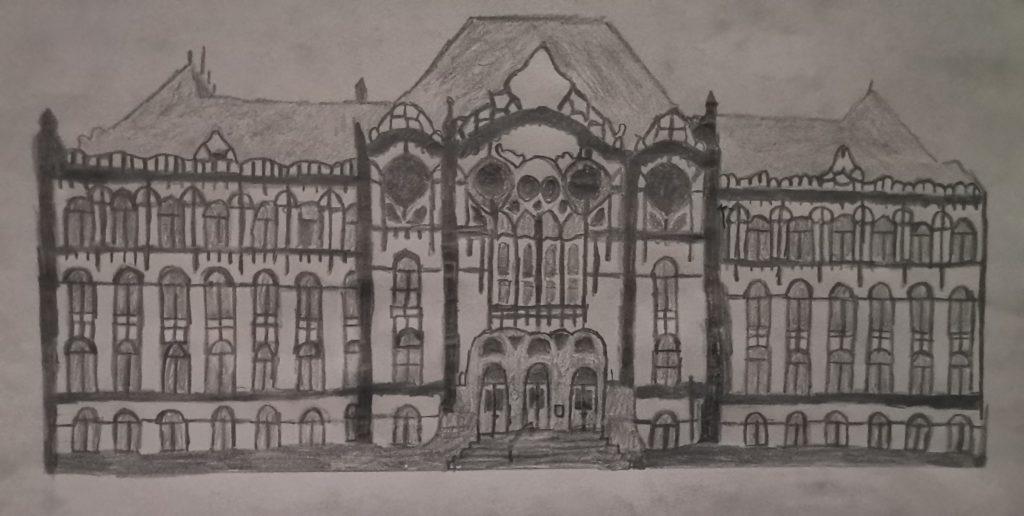 Vakok Iskolája logo, készítette Papp Krisztina, 2020 május, #2