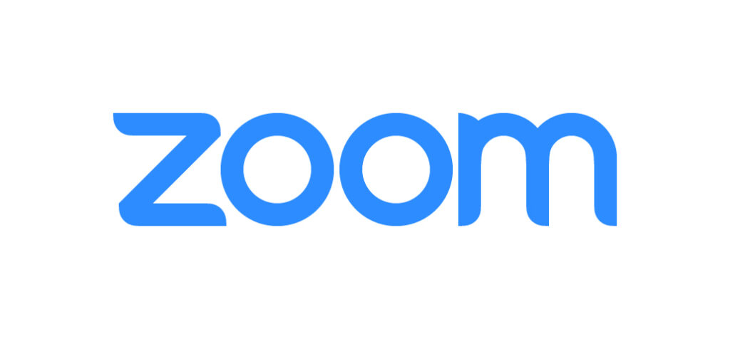 Zoom - logo Blue