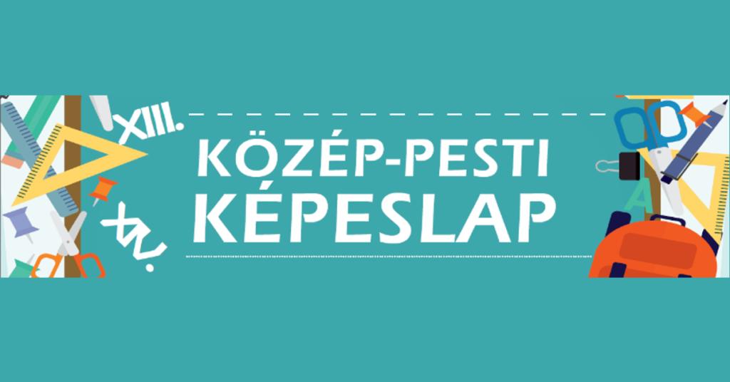 Közép-Pesti Képeslap logo