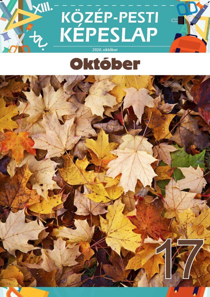 Közép-Pesti Képeslap, 2020 október, 17. szám
