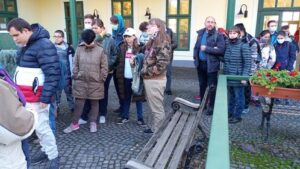 Hegyi-Füstös Ilona múzeumpedagógus köszöntötte a csoportot.