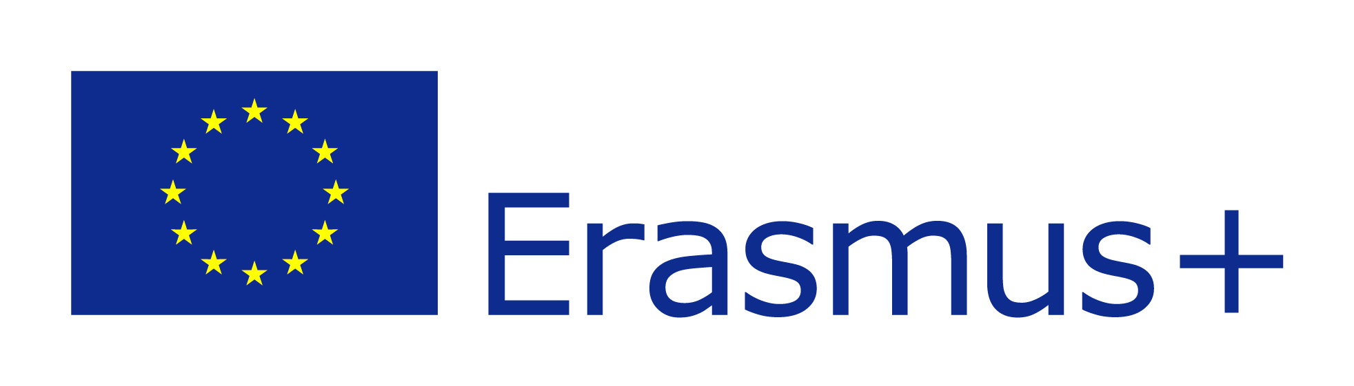 EU zászló és Erasmus+ logo