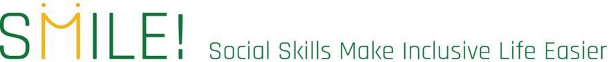 Smile!- Erasmus+ projekt logo